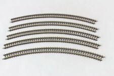 5x 8530 Rails Courbés Rayon 220mm Märklin Mini Club Voie Z