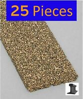 HO Cork Roadbed ~ New 2020 ~ 3 Feet x 5mm (25 Pieces) Midwest Products ~ 3013
