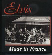 Elvis Presley *RARE COFFRET* ELVIS MADE IN FRANCE 10 CDs* J.HALLYDAY + AUTRES*