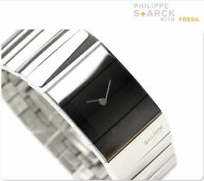 FOSSIL LADIE'S PHILIPPE STARCK SILVER MIRROR FACE  WATCH PH5017
