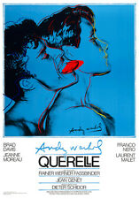 Querelle 1982 by Andy Warhol 100cm x 69.5cm High Quality Canvas Art Print