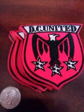 """(10) D.C. DC  United  Embroidered  Iron on patch lot  Soccer 3"""" X 3"""" MLS"""