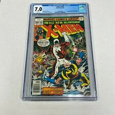 X-MEN #109 MARVEL COMICS 2/78 CGC 7.0 WHITE PAGES THE ALL-NEW, ALL -DIFFRENT