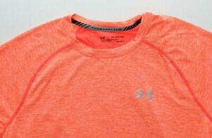Under Armour Men's HeatGear T-Shirt Crew Neck Fitted Threadborne Shirt 1294136