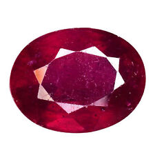 Transparent Oval Loose Natural Rubies , without Star Ruby?