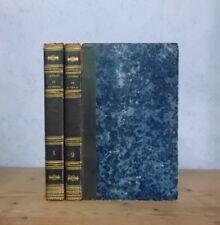 CLASSIQUES LATINS SATIRES DE JUVENAL (ED. PANCKOUCKE 1825-1826) 2 VOL. BILINGUES