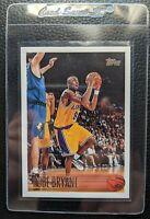1996 TOPPS #138 KOBE BRYANT ROOKIE CARD RC LOS ANGELES LAKERS HOF