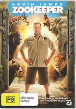 Zookeeper (DVD)   Kevin James - Region 4 - New and Sealed