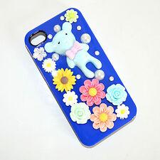 COVER custodia iPhone 4 case slim cristalli perle elegante idea regalo