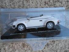 DIE CAST PORSCHE 911 CARRERA SPEEDSTER RACE 1987 SCALA 143