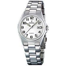 Silber Festina Armbanduhren