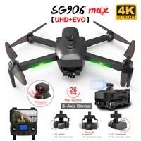 SG906 MAX Pro 2 GPS Drone Wifi 4K Camera Three-Axis Gimbal Brushless Quadcopter
