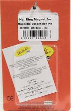 SLOT IT SICN08 REPLACEMET MAGNETS (MAGNET SUSPENSION KIT),1/32 SLOT CAR PART