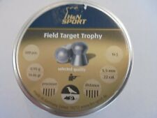 H andN field target trophy .22 airifle pellets x 500.