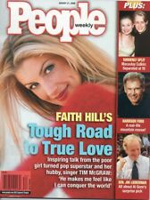 SEXY FAITH HILL TIM McGraw HARRISON FORD Macaulay Culkin PEOPLE MAGAZINE 2000