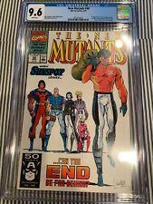 New Mutants #99 CGC 9.6 1st App Feral, Shatterstar