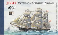 JERSEY (Großbritannien) - Markenheftchen - MH 13 postfrisch/** (Schiffe / Ships)