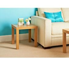 New And Stylish Croft Side Table Clean Oak Effect Ideal Space Saving Small Table