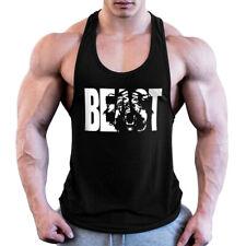 men Fitness shirt singlet Bodybuilding workout gym vest fitness cotton sleeveles