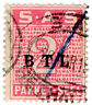 (I.B) South Africa Railways : Parcel Stamp 2/-