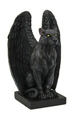 Guardian Winged Jaguar Gargoyle Collectible Figurine 6 Inches Tall Statue