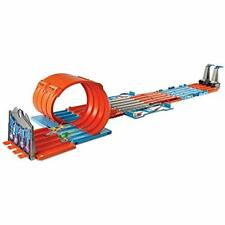 Mattel FTH77 Hot Wheels Track Builder System Race Crate for Ages 6 to 12