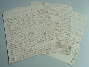 "Handwriting: Abhandlung 1867 Over Germanic ("" The Heidentum IN Germany "")"