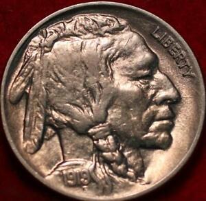 Uncirculated 1919 Philadelphia Mint Buffalo Nickel