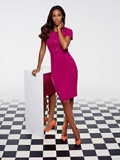 BNWT ROCHELLE HUMES BERRY STUDDED PENCIL WIGGLE   DRESS  SIZE 10 RRP £79