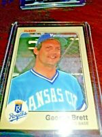 1983 Fleer #108 George Brett KANSAS CITY ROYALS HALL OF FAMER
