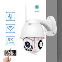 WIFI IP Camera 1080P WHITE Wireless Outdoor CCTV HD Home Security IR Cam