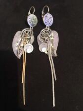 Boucle D'oreille Vintage bijou ancien  Pendant Fermoir Dormeuse