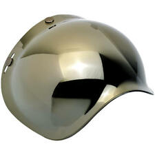Biltwell 3-Snap Bubble Shield - Anti Fog - (Gold Mirror) - Free shipping (USA)