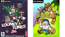 Totalmente Looney Tunes (Bugs Bunny Taz Wanted, Ovejas Perro Lobo N) y Buba Kong