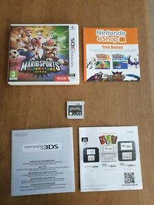 NINTENDO 3DS 2DS  - Boite + Notice + Jeu Mario Sports Super Stars  - TBE