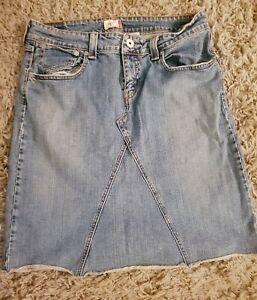 Vintage 90s Levis Denim Skirt Plus 16 XL