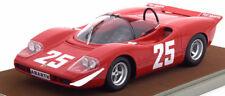 ABARTH 2000 S #25 WINNER 1969 VAN LENNEP LTD 50PC 1/18 BY TECNOMODEL TM18-58E