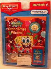 Story Reader: Spongebob Grand Prize Winner Storybook & Cartridge..FREE SHIPPING