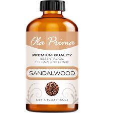 Sandalwood (Australian) Essential Oil - Multiple Sizes - 100% Pure Amber Bottle