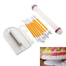 11Pcs Washable Cake Decorating Modelling Tools for Sugar Paste DIY Baking Craft