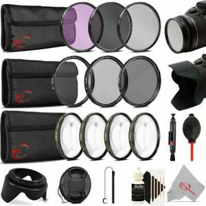 Vivitar 72mm Essential Filter Accessory Kit