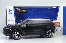 """Bburago 30010 Land Rover LRX Concept """"Nero""""  METAL Scala 1:43"""