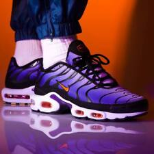 Nike Air Max Plus OG Tn Voltage Purple Total Orange Black UK 7-11 EUR 41-46