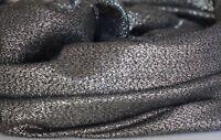 Gold Glitzer Schal, lang + breit, weiche Viskose mit elegantem Fall, Schwarz