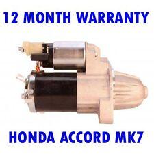 HONDA ACCORD MK7 MK VII 2.0 2.4 2003 2004 2005 2006 2007 2008 RMFD STARTER MOTOR