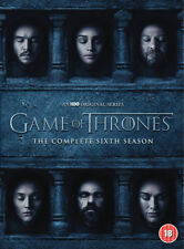 GAME OF THRONES Season 6 DVD Complete 6th Series New UK