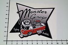 MONSTER GARAGE Aufkleber Sticker Jesse James Hot Rod Muscle Car Racing JDM Mi262