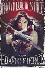 WONDER WOMAN - FIGHT FOR JUSTICE POSTER 24x36 - DC COMICS JUSTICE LEAGUE 160585