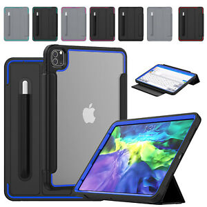 """For iPad 10.2"""" 8th Gen 7th 9.7"""" 6th 5th Air 4 Pro 12.9 11 Mini Smart Case Cover"""
