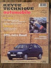 Revue Technique Automobile OPEL Astra Diesel